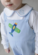 Load image into Gallery viewer, Airplane Embroidered Shortall