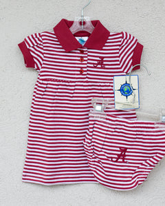Alabama Gameday Dress - Posh Tots Children's Boutique