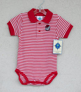 Georgia Striped Bodysuit - Posh Tots Children's Boutique