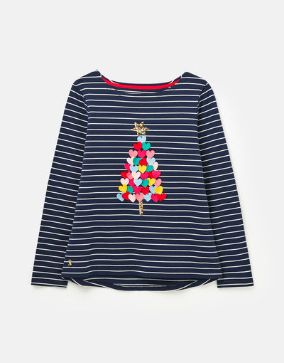 Harbour Luxe Long Sleeve Jersey Top - Posh Tots Children's Boutique