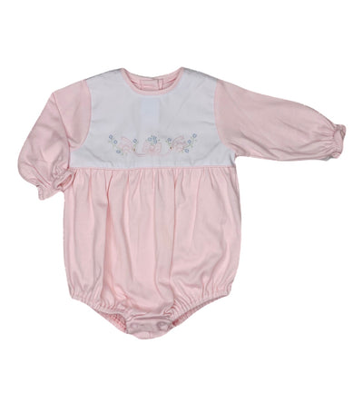 Dove L/S Knit Bubble - Posh Tots Children's Boutique