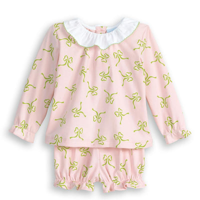 Pima Polly Bloomer Set - Posh Tots Children's Boutique