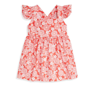 Valerie Dress - Daisy Floral - Posh Tots Children's Boutique