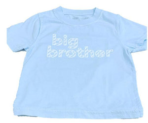 T-Shirt, S/S Big Brother - Posh Tots Children's Boutique