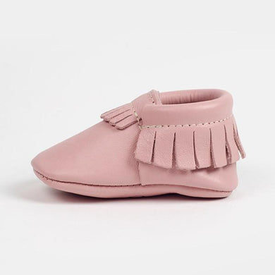 Blush Moccasins - Posh Tots Children's Boutique