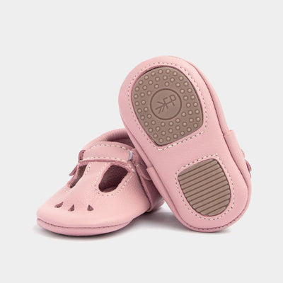 Blush Mary Jane Mini Sole - Posh Tots Children's Boutique