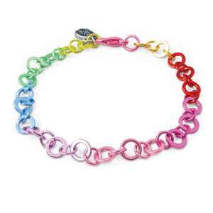 Rainbow Chain Bracelet - Posh Tots Children's Boutique
