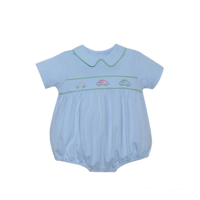 CARSON BLUE BUBBLE - CAR - Posh Tots Children's Boutique