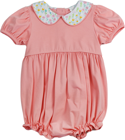 PRE ORDER Charleston Bubble - Tip Toe Through the Tulips - Posh Tots Children's Boutique