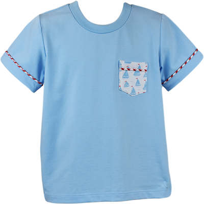 PRE ORDER Charlie Shirt - Anchors Aweigh - Posh Tots Children's Boutique