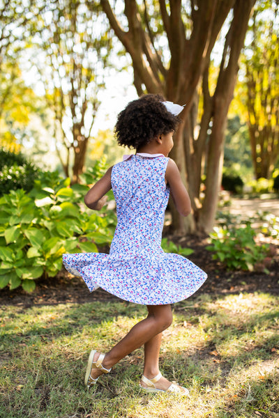 Mary Floral Dress - Posh Tots Children's Boutique