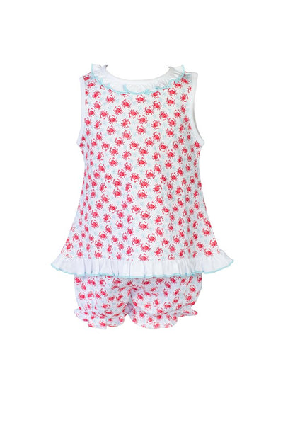 Crab Bloomer Set - Posh Tots Children's Boutique
