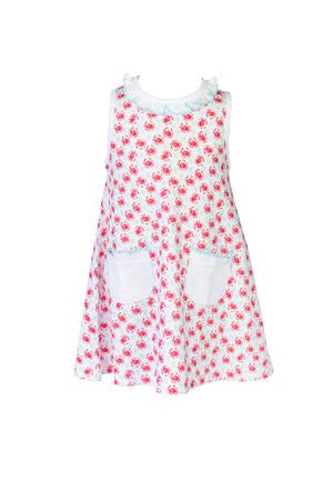 Crab A-Line Dress - Posh Tots Children's Boutique