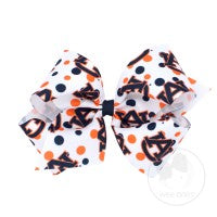 Collegiate Bow, Large, Auburn