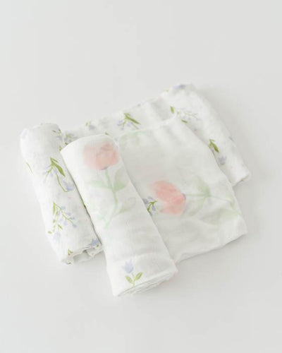 Deluxe Muslin Swaddle Blanket Set - Posh Tots Children's Boutique