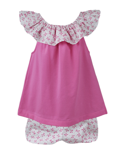PRE ORDER Eve Bloomer Set - Tweet Tweet - Posh Tots Children's Boutique