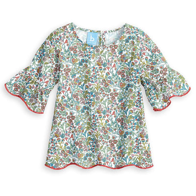 Fall Scarlett Blouse - Pocketful of Posies - Posh Tots Children's Boutique