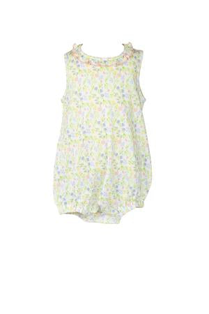 Garden Floral Bubble - Posh Tots Children's Boutique