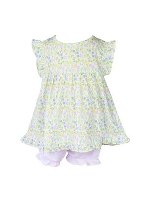 Garden Floral Bloomer Set - Posh Tots Children's Boutique