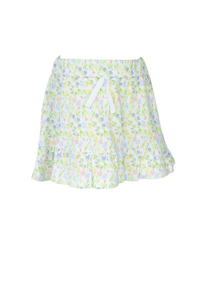 Garden Floral Skirt - Posh Tots Children's Boutique