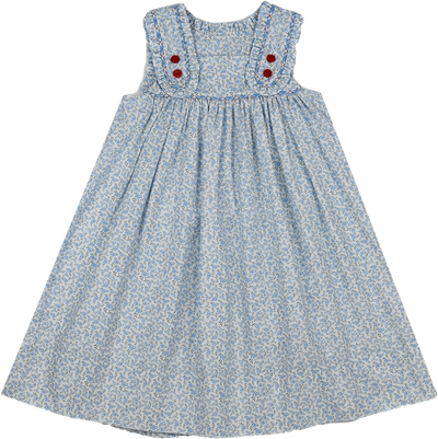 PRE ORDER Frances Dress - Keep Blooming - Posh Tots Children's Boutique