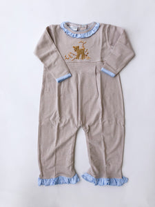 Fawn Coverall, Girl - Posh Tots Children's Boutique