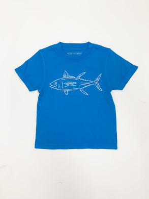 T-Shirt, S/S Tuna - Posh Tots Children's Boutique