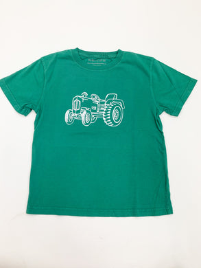 T-Shirt, S/S Tractor - Posh Tots Children's Boutique