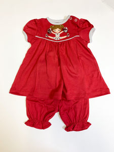 Cheerleader Bloomer Set - Posh Tots Children's Boutique