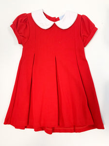 Patty Party Dress, Red