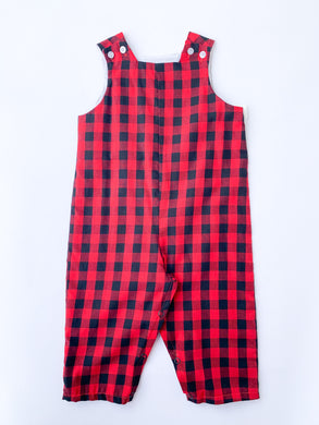 Red/Black Buffalo Longall - Posh Tots Children's Boutique