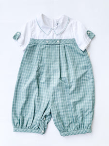 Ashford Green Plaid Georgia Longall - Posh Tots Children's Boutique