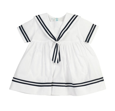 Sailor Dress - Posh Tots Children's Boutique