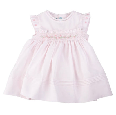 Rose Garden Collection Fly Sleeve Dress - Posh Tots Children's Boutique