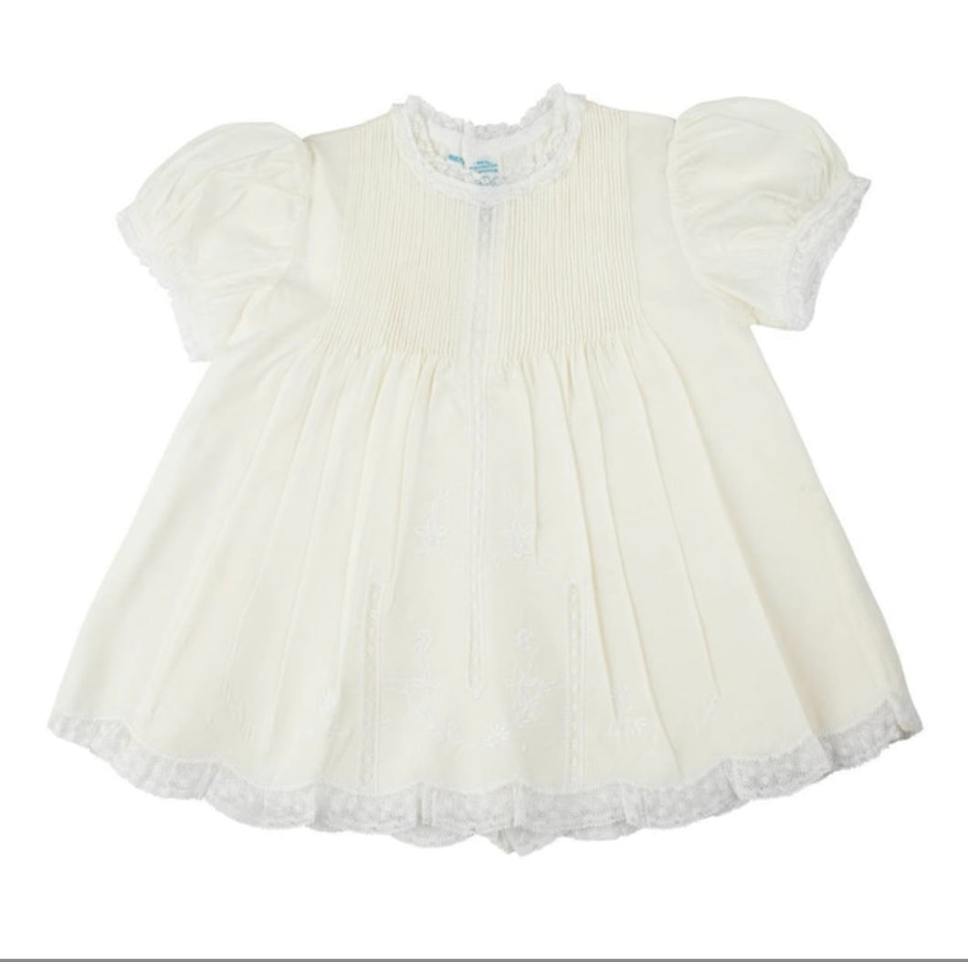 Lace Trim Slip Dress - Posh Tots Children's Boutique