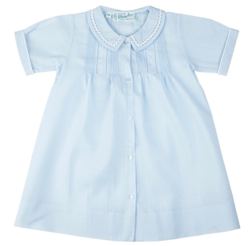 Boys Dot Folded Daygown - Posh Tots Children's Boutique