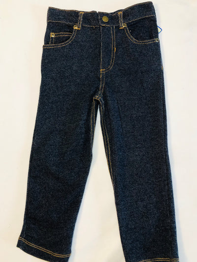 Knit Denim Jeans - Posh Tots Children's Boutique