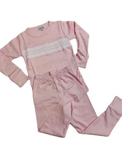 Delanie & Dillon Classic Smocked Pajamas - Posh Tots Children's Boutique
