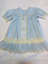 Load image into Gallery viewer, Blue Amelia Dress - Posh Tots Children's Boutique