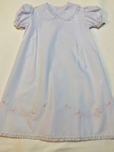 Long White Daygown - Posh Tots Children's Boutique