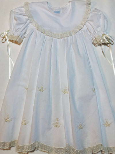 Heirloom Embroidered Dress - Posh Tots Children's Boutique