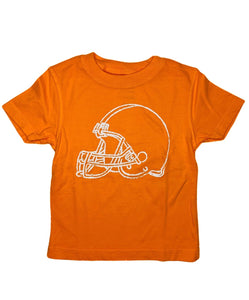 T-Shirt, Short Sleeve Football Helmet
