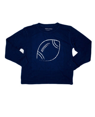 T-Shirt, Long Sleeve Football - Posh Tots Children's Boutique