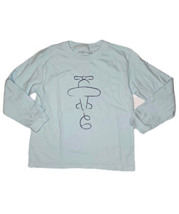 T-Shirt, Long Sleeve Airplane