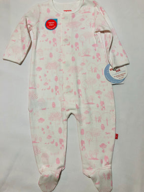 6-9m Perfect Day Magnetic Footie - Posh Tots Children's Boutique