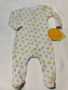 Tiny Duck Footie - Posh Tots Children's Boutique