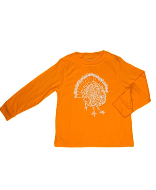 T-Shirt, Long Sleeve Turkey - Posh Tots Children's Boutique