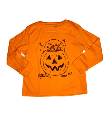 T-Shirt, Long Sleeve Candy Bucket - Posh Tots Children's Boutique