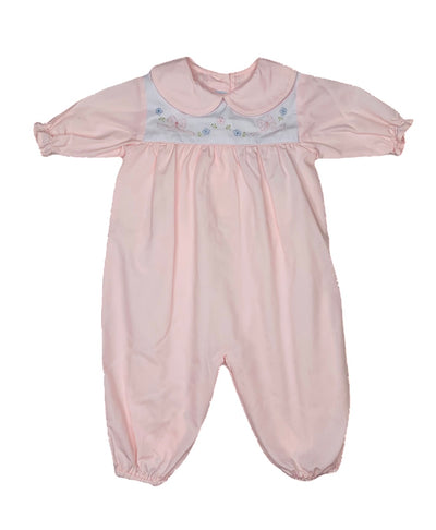 Pink Bow L/S Longall - Posh Tots Children's Boutique