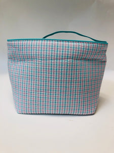 Seersucker Tote Bag, Asst'd Designs - Posh Tots Children's Boutique